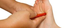 Thailändische Fußmassage